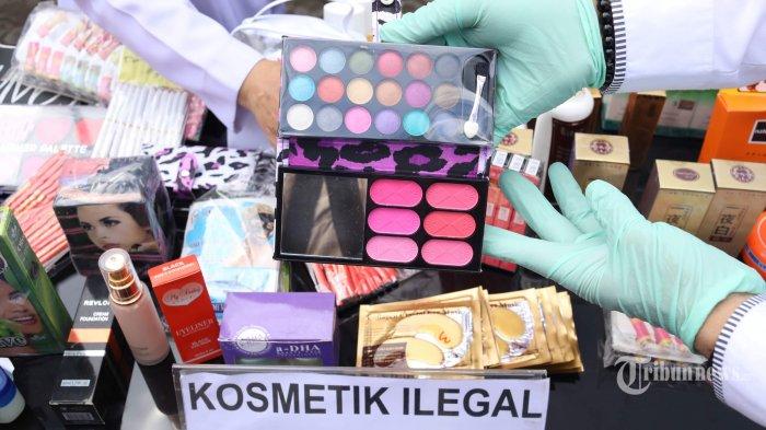 Jual Kosmetik Tak Berizin, Seorang PNS Ditangkap