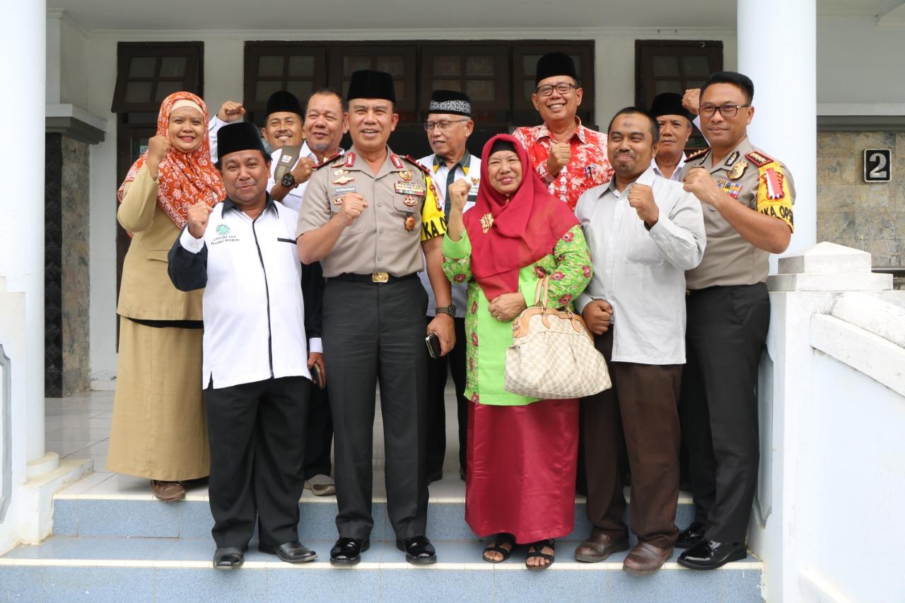 Tingkatkan Sinergitas, Kapolda Silaturahmi Bersama MUI Provinsi Bengkulu