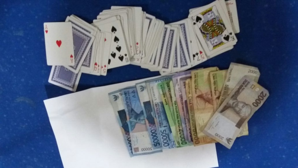 Ops Pekat Nala 2018, 16 penjudi diamankan Polres Mukomuko