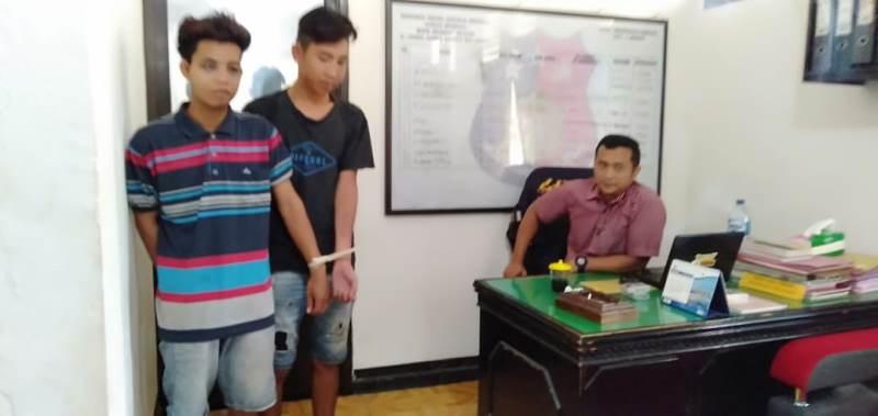 Polisi Tangkap 2 Pemuda Pelaku Curanmor