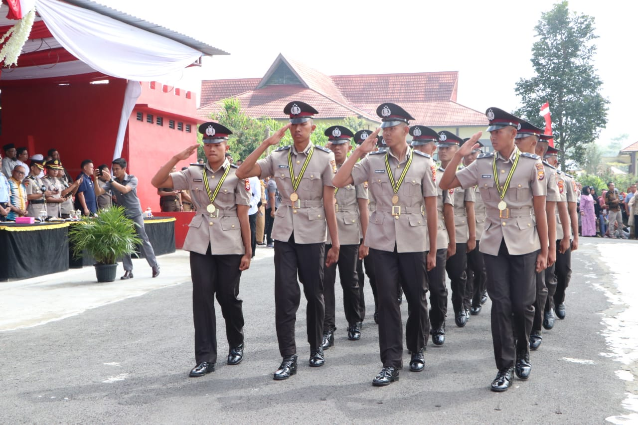 lulusan SPN Bukit Kaba Polda Bengkulu Ditarik Ke Mabes Polri
