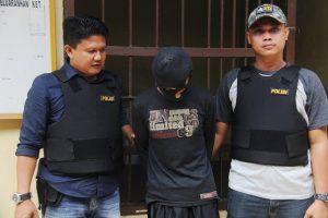 Di Duga Terlibat Pembunuhan, Buruh Di Tangkap