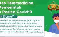 Fasilitas Telemedicine dari Pemerintah untuk Pasien Covid-19