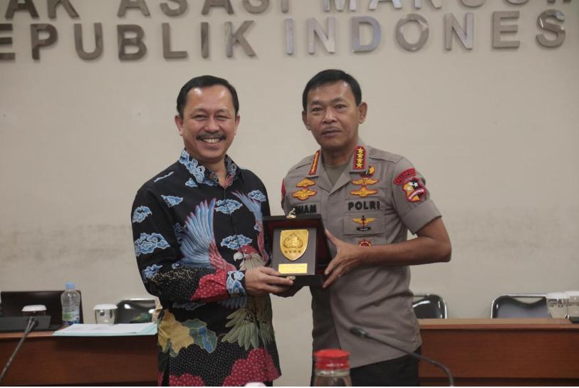 Perkuat Sinergitas, Kapolri Silaturahmi Dengan Komisioner Komnas HAM RI