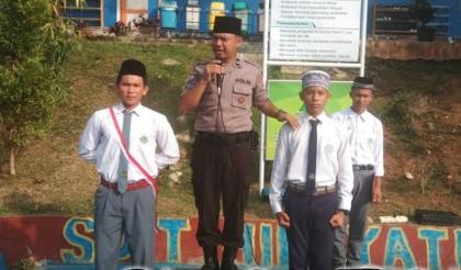 Police Goes To School, Ipda Nyarna Ingatkan Jaga Kamtibmas