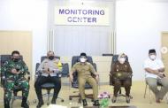 Bahas Disiplin Prokes Covid-19 Jelang Lebaran, Kapolres dan FKPD Ikuti Rakor Virtual Bersama Para Menteri