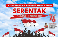 Kapolda Bengkulu Ajak Masyarakat Kibarkan Bendera Merah Putih