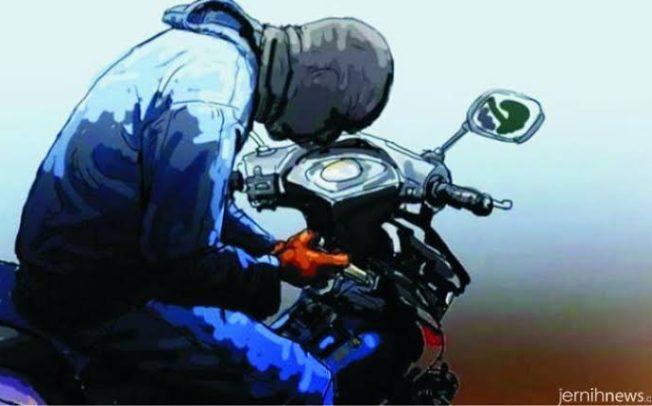 Curi Motor Diwarung Tuak, Resedivis Ditangkap Polisi