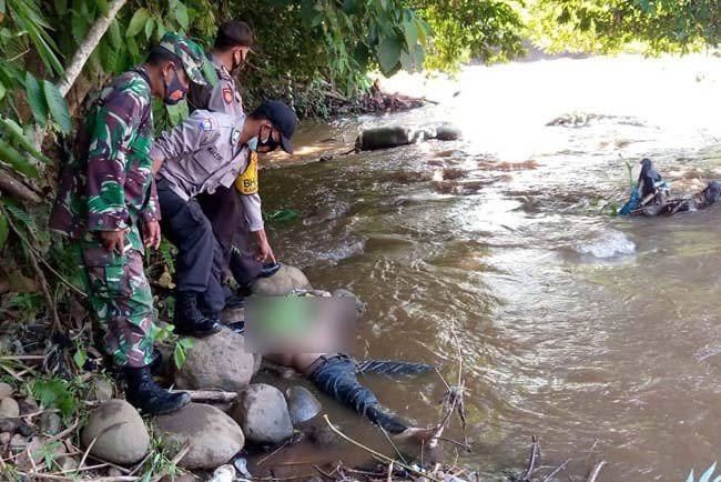 Polsek PUT Selidiki Mayat Terapung di Sungai Kelingi