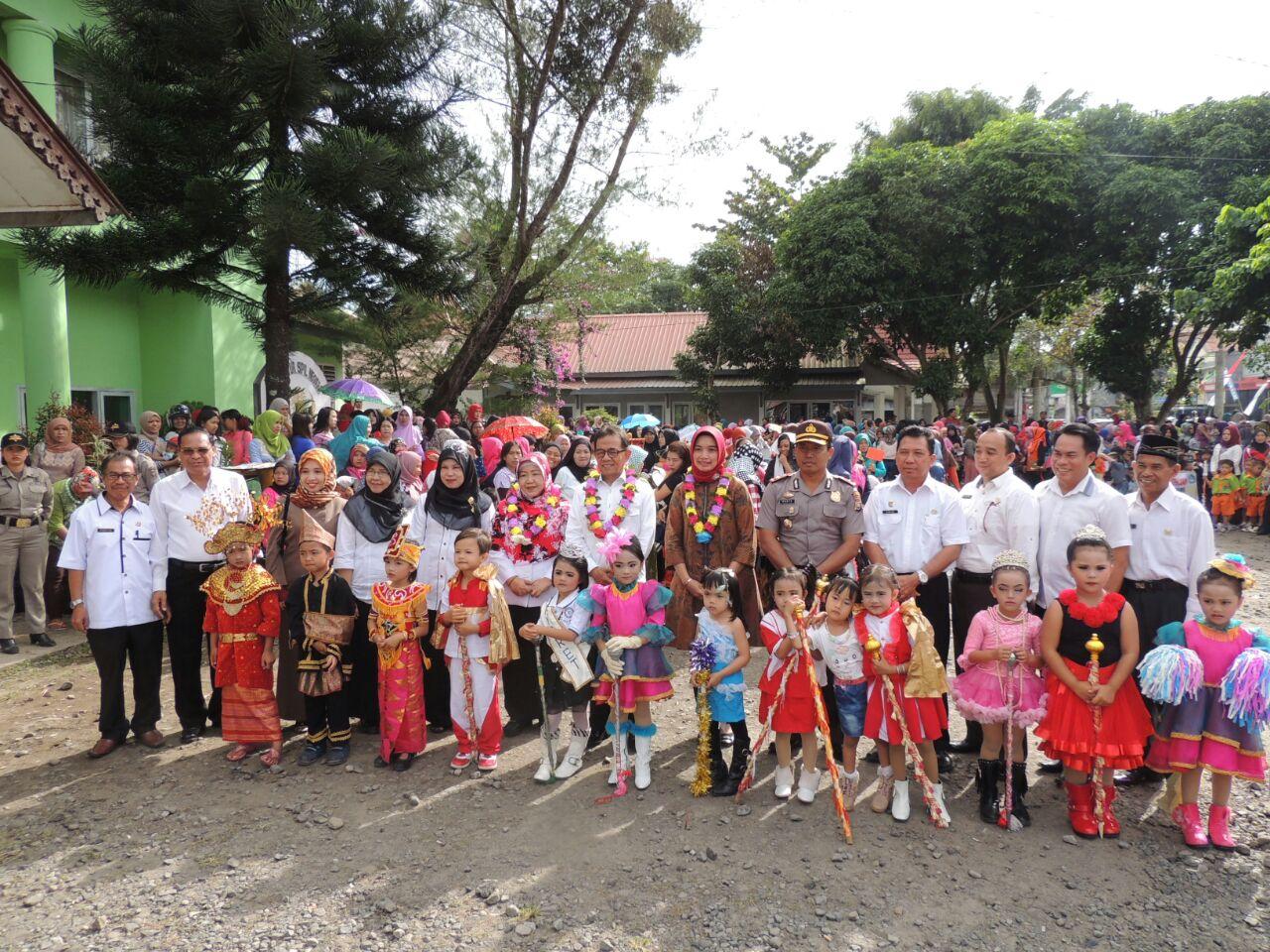 Polres Kepahiang  Lakukan Pengawalan dan Pengamanan 1.020 Siswa Paud Karnaval