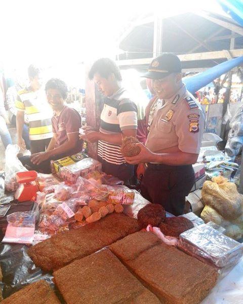 Program Police Goes To Market Polsek Lubuk Pinang