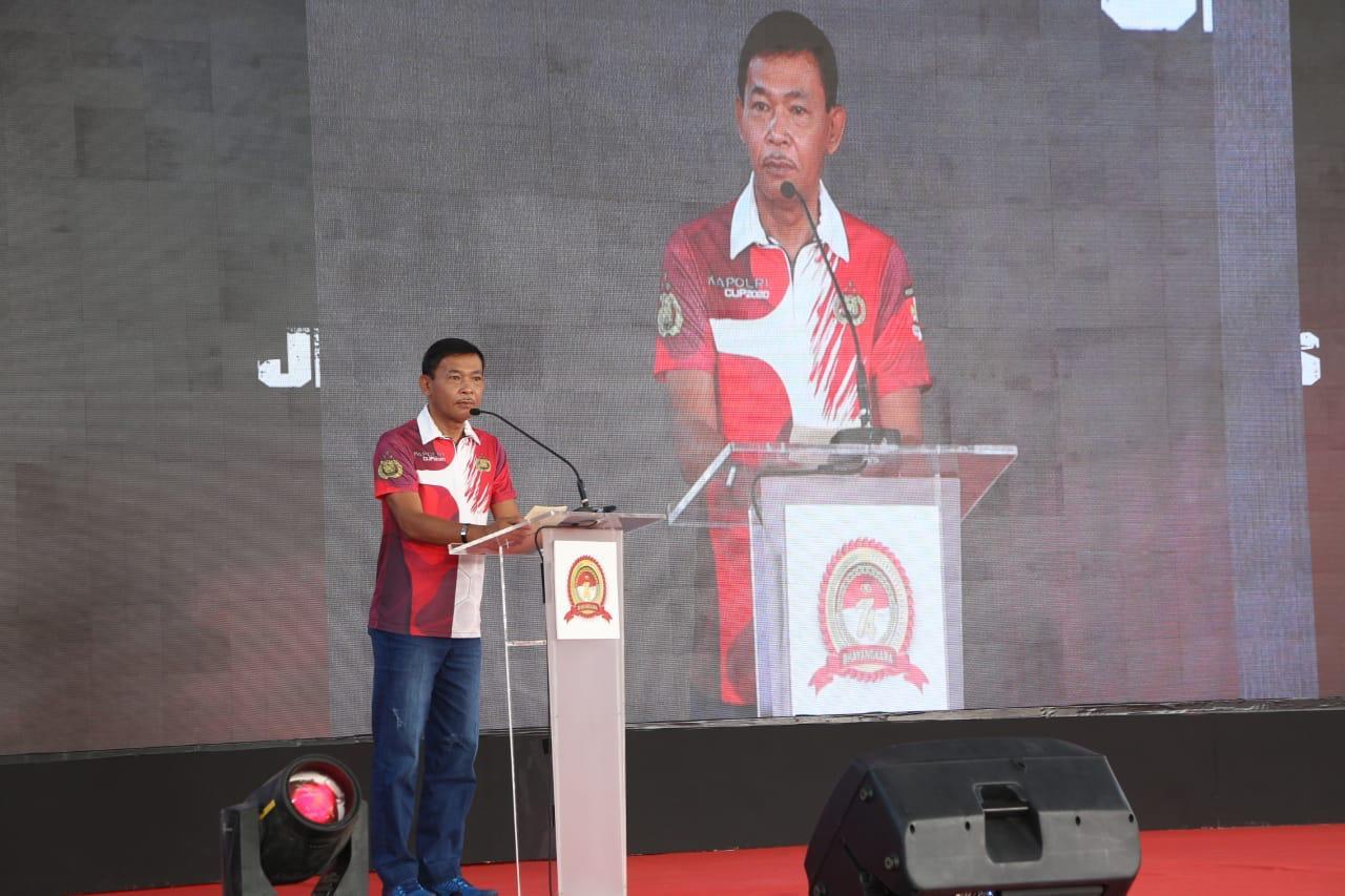 Kapolri Pimpin Pembukaan Kejurnas Menembak Kapolri Cup 2020
