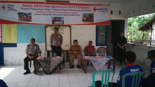 Pelatihan Siaga Bencana Berbasis Masyarakat (SIBAT) Polsek Maje