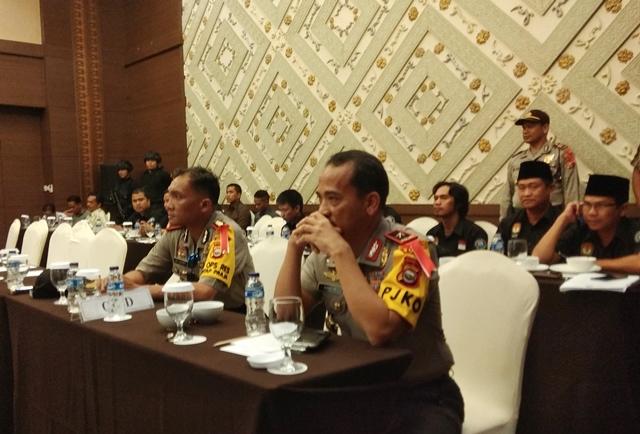 Polres Bengkulu Amankan Pleno Pengundian Nomor Urut Paslon Walikota
