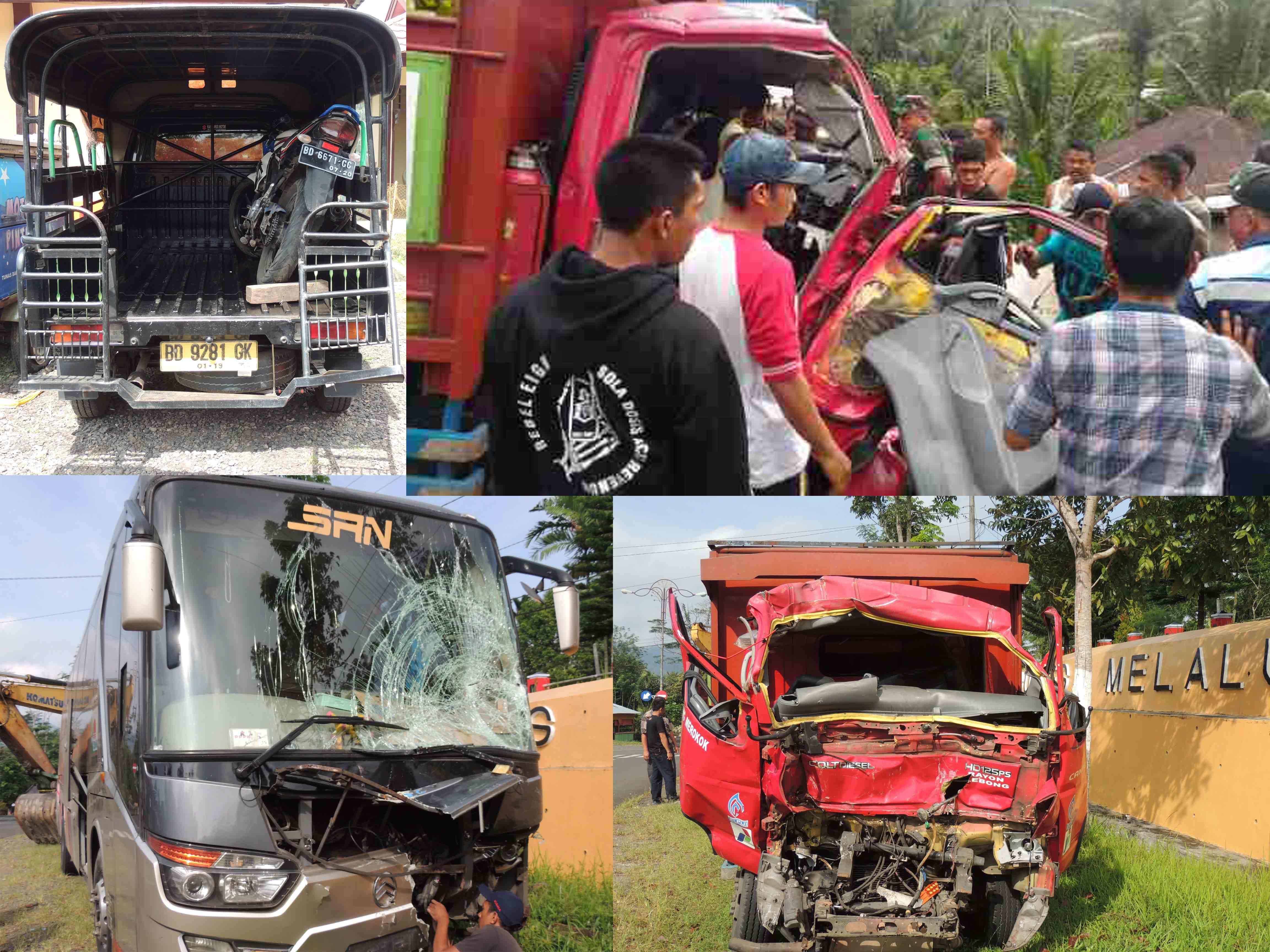 Sehari 2 Kecelakaan Terjadi di Kepahiang