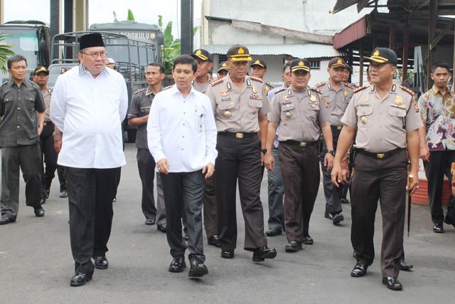 Menteri PANRB Kunjungi Polres Bengkulu