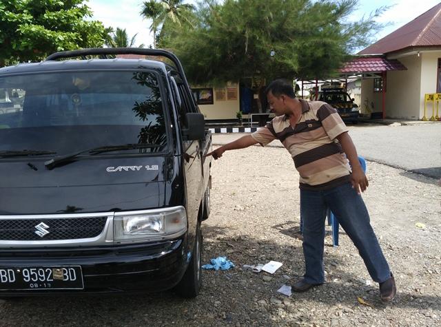 Mobil Di congkel, 175 juta Raib