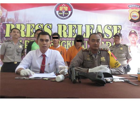 2 Musang Curanmor di Bekuk Polisi