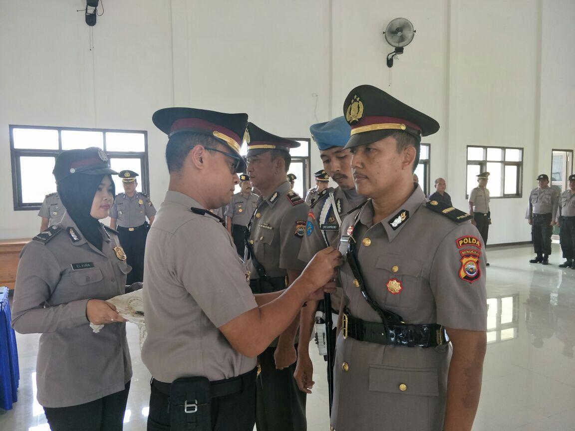 Sertijab, Ipda Samsul Rizal, SH Jadi Kapolsek Padang Guci Hulu Polres Kaur