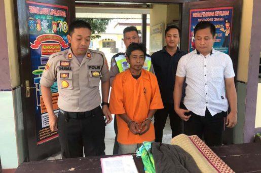 Gelapkan Motor, Warga Lintang Ditangkap Polisi