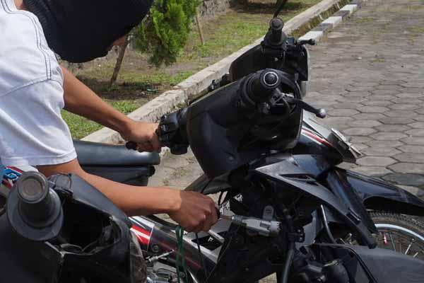 Motor Pak RT Unib Belakang Nyaris Pindah Tangan