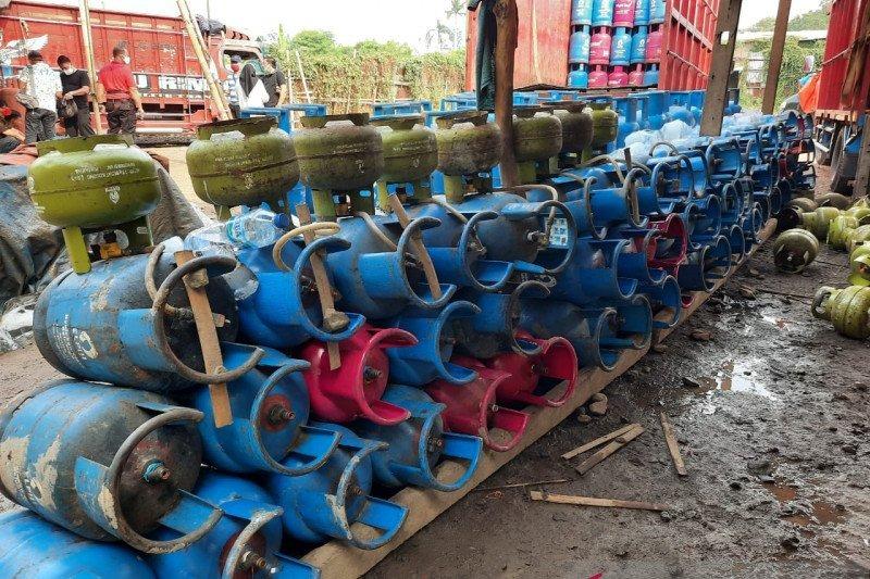Polri Berhasil Ungkap Sindikat Penyalahgunaan Gas Subsidi