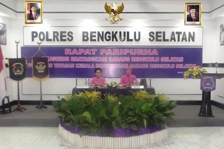 Rapat Paripurna Bhayangkari Cabang Bengkulu Selatan