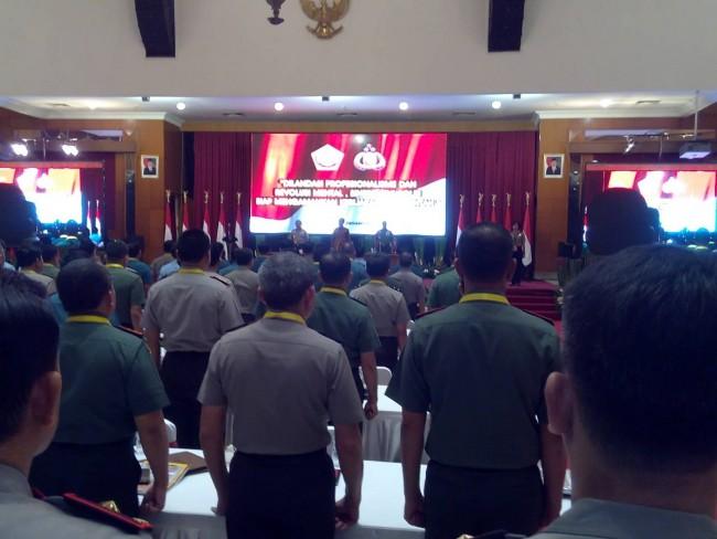 Arahan Presiden Jokowi saat Rapim TNI dan Polri