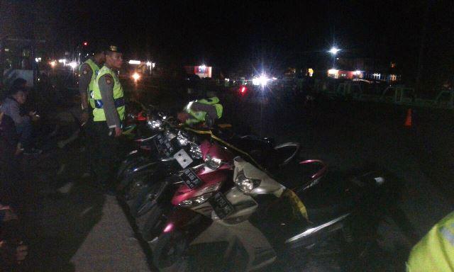 Razia Bali, 10 Motor Diamankan