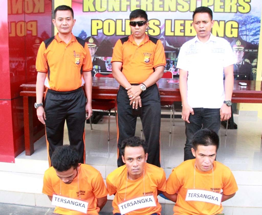 Curi Pipa PT PGE, 3 Warga Mubai Ditangkap Polisi