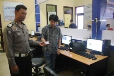 Ditlantas Polda Bengkulu Siapkan SIM Online