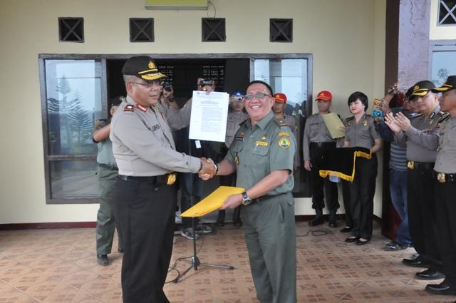 Kapolda dan Ketua KPU Cek Tapal Batas Bengkulu utara – Lebong