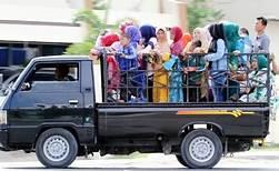 Kapolres Bengkulu Larang Mobil Bak Terbuka Bawa Penumpang