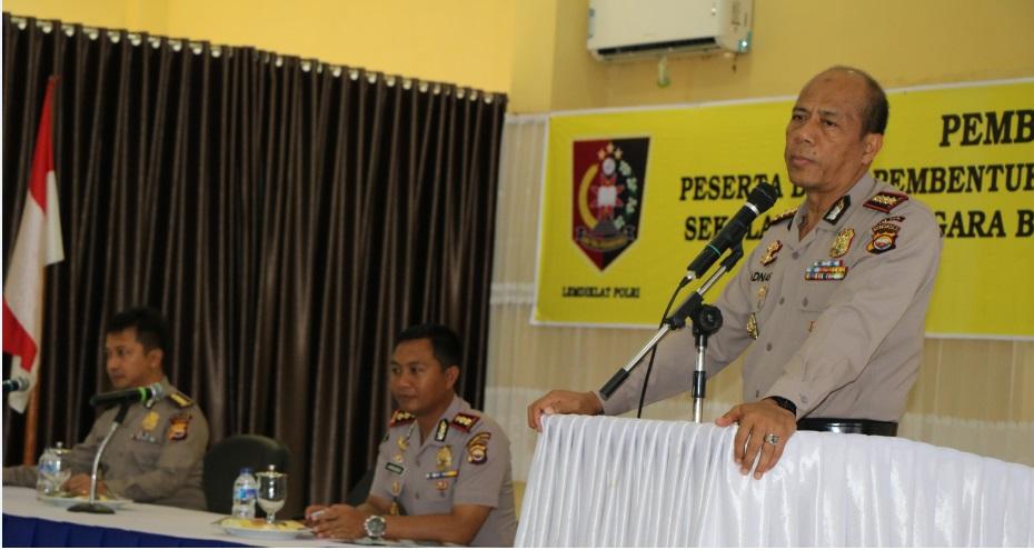 Wakapolda : Polisi Profesional Harus Memiliki Skill, Knowladge, Attitude