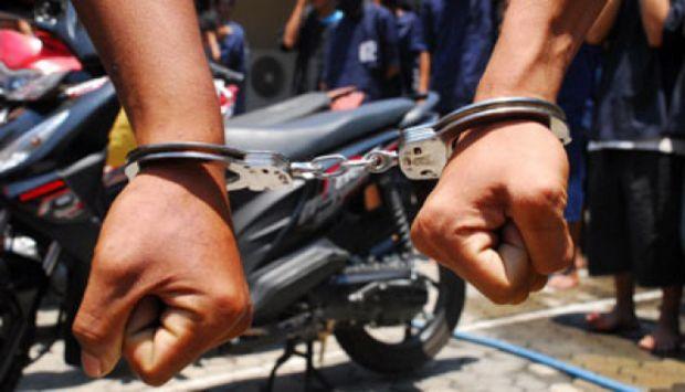 Polres BS Berhasil Ringkus Bandit Motor Di Kebun Tangah Hutan