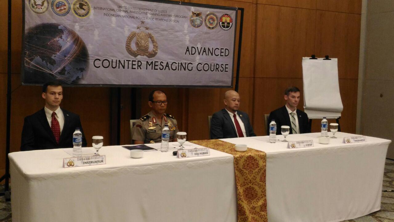 Divisi Humas Dan ICITAP Gelar Pelatihan di ICE Tangerang